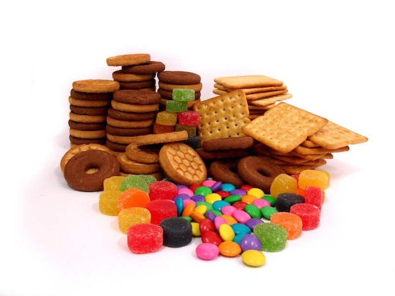 Lebensmittel und Süßigkeiten als Werbegeschenke